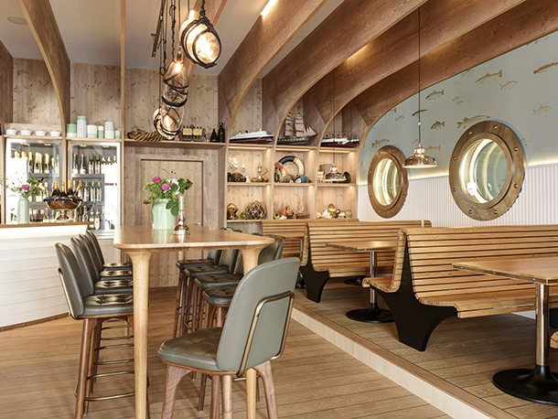 Hafen restaurant switzerland darc magazine for Restaurant mannheim hafen