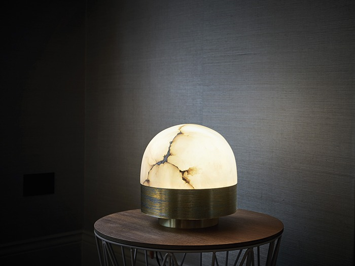 lucid lighting. designed by michael verheyden lucid combines refined materials including alabaster and painted brass with elegant shapes to create timeless lighting